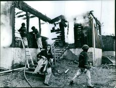 The fire in Onsala children's colony who demanded eight deaths among the disabled children.