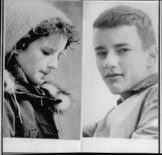 The deceased Kristina Stenudd and her brother Åke, who were injured.