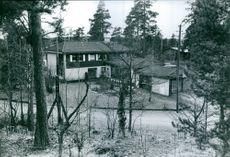 One of the protagonists of drug giant was arrested in this luxury villa in Sollentuna north of Stockholm