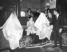 Wedding in Rabat attended by King Hassan II