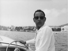 King Hassan II on his leisure time in Riviera.