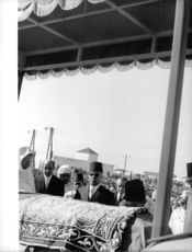 The funeral of King Mohammed V.