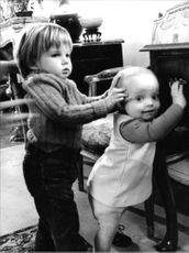 Children of Charlie Chaplin and Oona O'Neil.