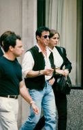 Sylvester Stallone on stroll with girlfriend Andrea Weiser