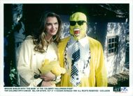 """Actress Brooke Shields with """"The mask"""" at the """"Celebrity Halloween Event"""" for children with cancer"""