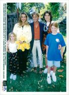 """Brooke Shields and Christopher Atkins with guests at the """"Celebrity Halloween Event"""" for children with cancer"""