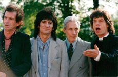 The Rolling Stones in Stockholm before the start of their European Tour with a concert at the Stockholm Stadium