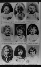 Children's pictures of the English royal family