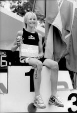Best achievement made 12-year-old Susanne Karlsson who cracked many of the super athletes who set up in Stockholm, Sweden