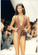 Under fashion show for Gianfranco Ferres swimwear collection