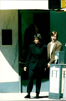 Paparazzi fire at Oprah Winfrey taken when she visited the luxury clothing stores on Madison Avenue.