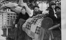 Evacuation of Hanko during the Winter war, 1940.