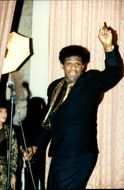 Gospel and soul singer Al Green at a ceremony with the Rock & Roll Hall of Fame at Waldorf Astoria