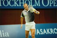 Thomas Muster in Stockholm Open