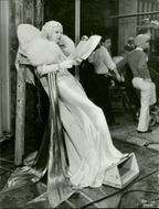 A Photo of Jean Harlow in Costume