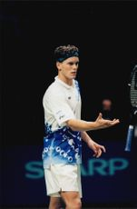 Thomas Enqvist during the finals in Stockholm Open.
