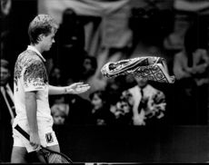 World Cup throws in the towel after the brackish loss against Boris Becker in the Stockholm Open final