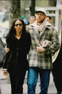 Paparazzi player on the tennis player Boris Becker and his wife Barbara during a stay in France.