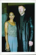 Portrait image of Boris Becker and his wife Barbara taken in conjunction with France Monaco Open Tennis.