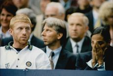 Boris Becker monitors the basic round of the Davis Cup.