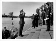 British policemen from Scotland Yard add to the Stockholm City Hall