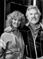 Marianne and Kenny Rogers.