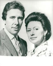 Lord Snowdon and his wife Princess Margaret at Kensington Palace