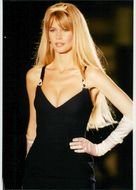 Claudia Schiffer on the catwalk