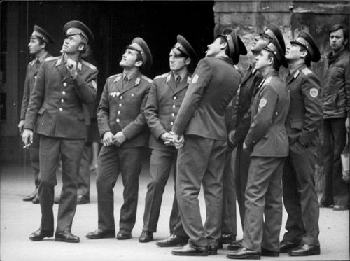 Soviet military as a tourist in Prague