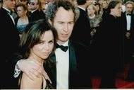 John McEnroe on the red carpet with girlfriend Patty Smyth at the Oscars gala