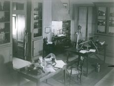 Pasteur, Louis' laboratory room. 1966