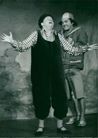 """Maud Hansson and Per Holmberg in the premiere of """"It's Sooing"""" on Maxim Theater"""