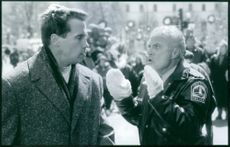 Arnold Schwarzenegger and Robert Conrad star in Jingle All the Way.