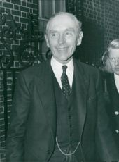 UK Prime Minister Alec Douglas-Home Outside No. 10, Downing Street