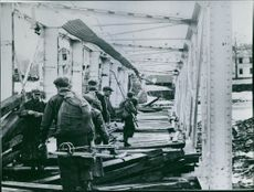 Norwegian Solders traveling to a mobilization site during the first few days after the 9th of April 1940.