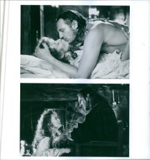 Different scenes from the film Rob Roy with Liam Neeson as Rob Roy MacGregor and Jessica Lange as Mary MacGregor, 1995.