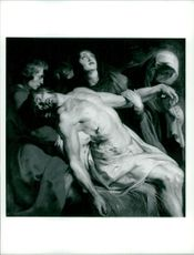 Sir Peter Paul Rubens: the entombment.