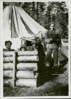 Palace Elections Guards, Swedish Volunteers.