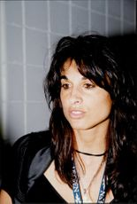 Argentine tennis player Gabriela Sabatini at the US Open