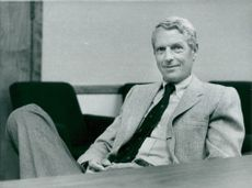 Portrait Frederic Hamilton, Chief and together with Volvo's largest owner in Hamilton Group USA