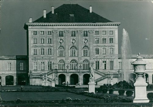 Munch Germany:the nymphenberg palace formerly the summer residence.