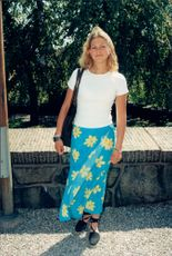 15-year-old Princess Madeleine during her schooling.