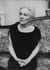 Portrait of Katherine Anne Porter.