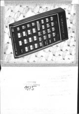 Hewlett Packard HP55, the first calculator in the world that has been built Time meter function and is suitable for navigation