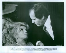 """A scene of John Joseph """"Jack"""" Nicholson and Ann-Margret from the British musical fantasy film directed by Ken Russell """"Tommy""""."""