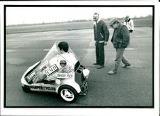 Mr Adam Harper and Belveders, Kent , failed in his attept to set a new british landspeed record.