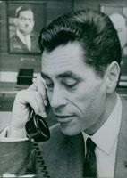 French administrator, Yves Guena, 1969.
