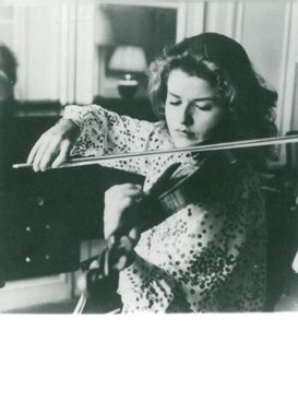 Violinists Anne-Sophie Mutter
