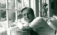 Kirk Douglas in his home in Beverly Hills
