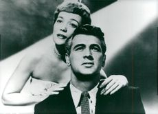 Jane Wyman and Rock Hudson in Magnificent Obsession.